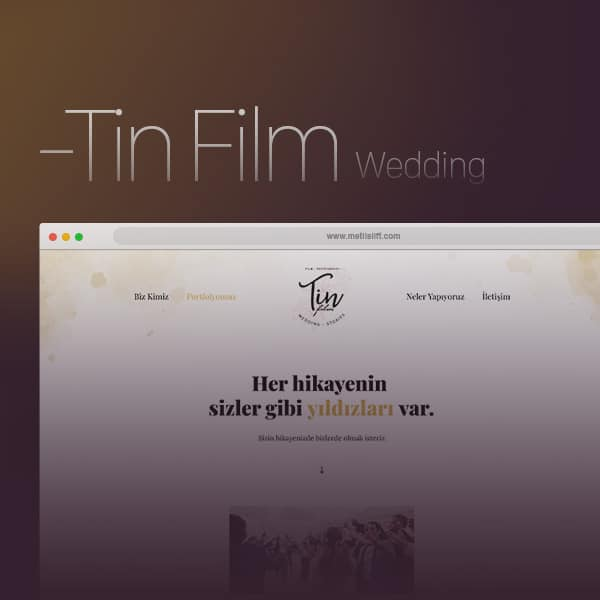 Tin Film Wedding