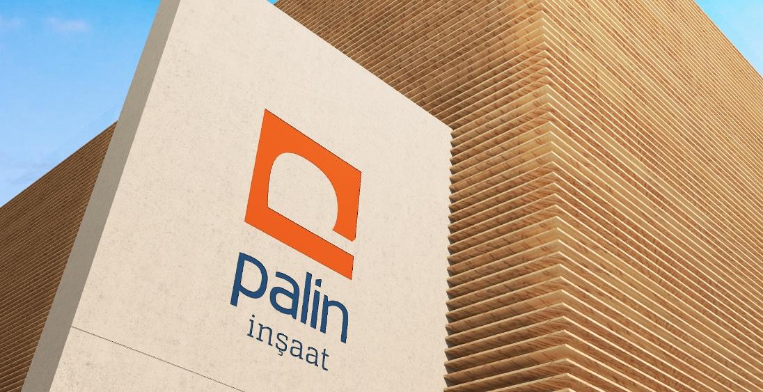 Palin İnşaat - Logo Kurumsal Kimlik Ankara