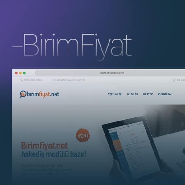 Birim Fiyat - Web Tasarım
