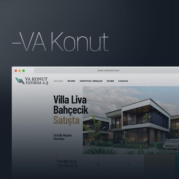 VA Konut Proje - Web Tasarım