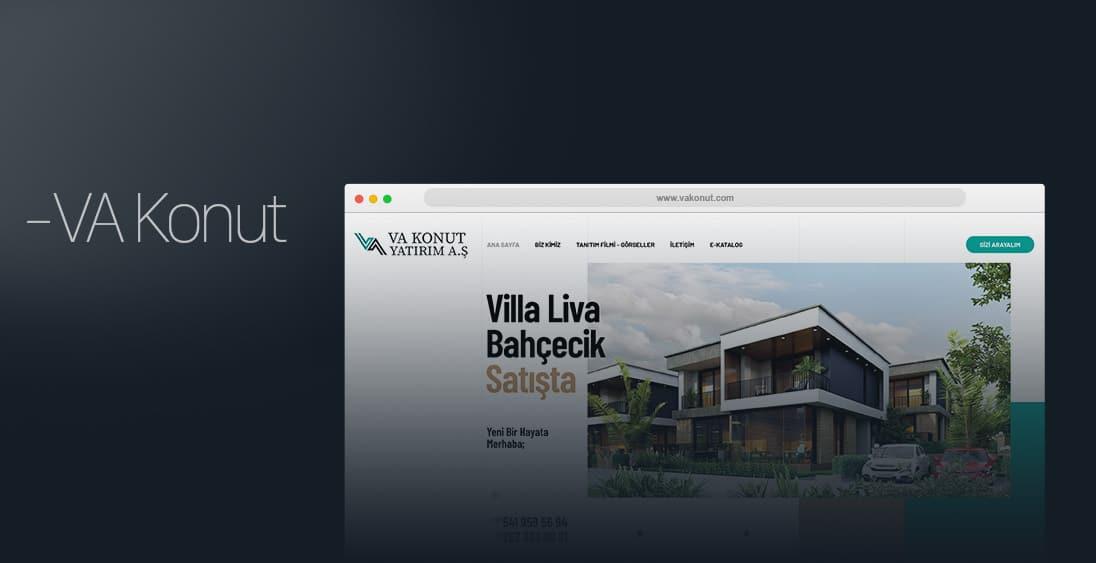 VA Konut Proje - Web Tasarım - Kocaeli