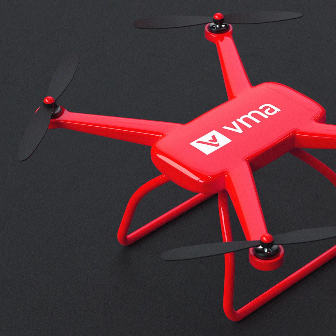 VMA Teknoloji - Drone Logo Tasarım