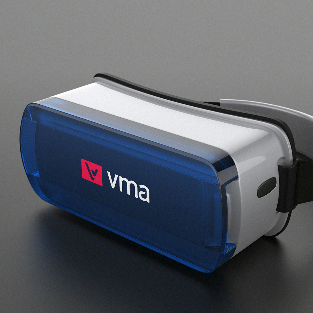 VMA Teknoloji - VR 360 Logo Tasarım