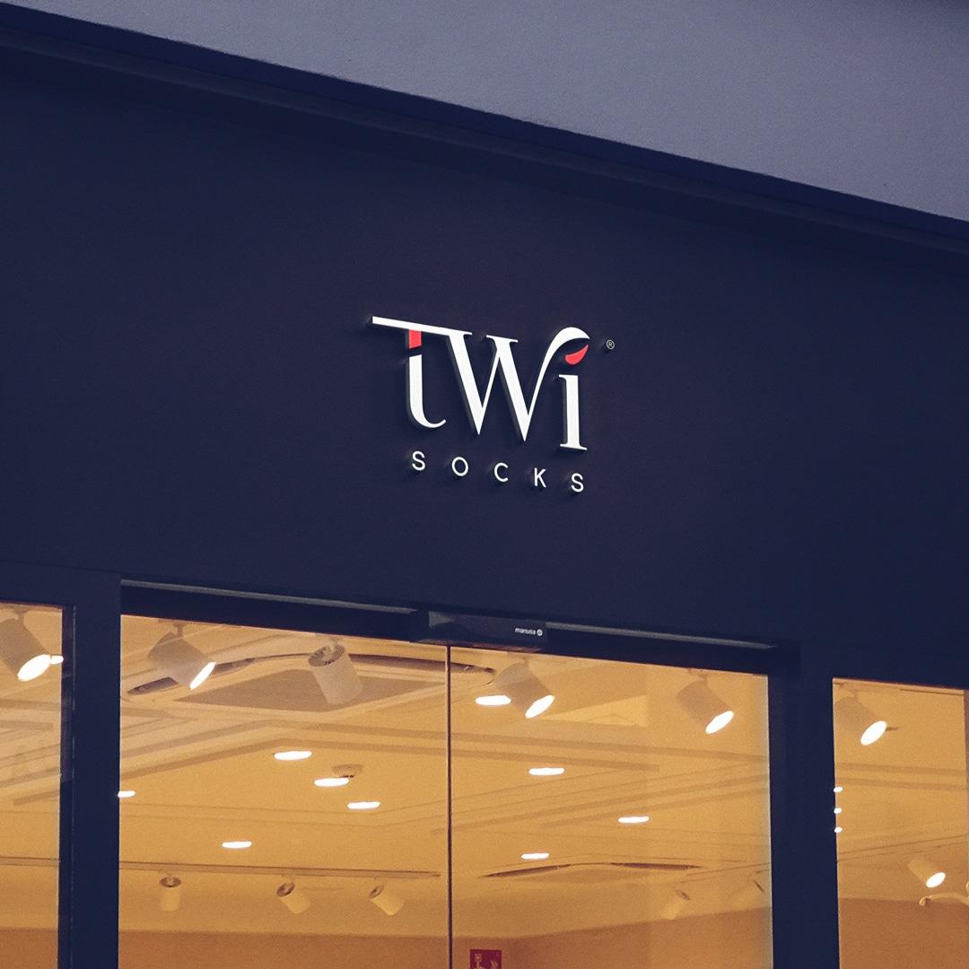 TwiSocks Çorap Logo Tasarım