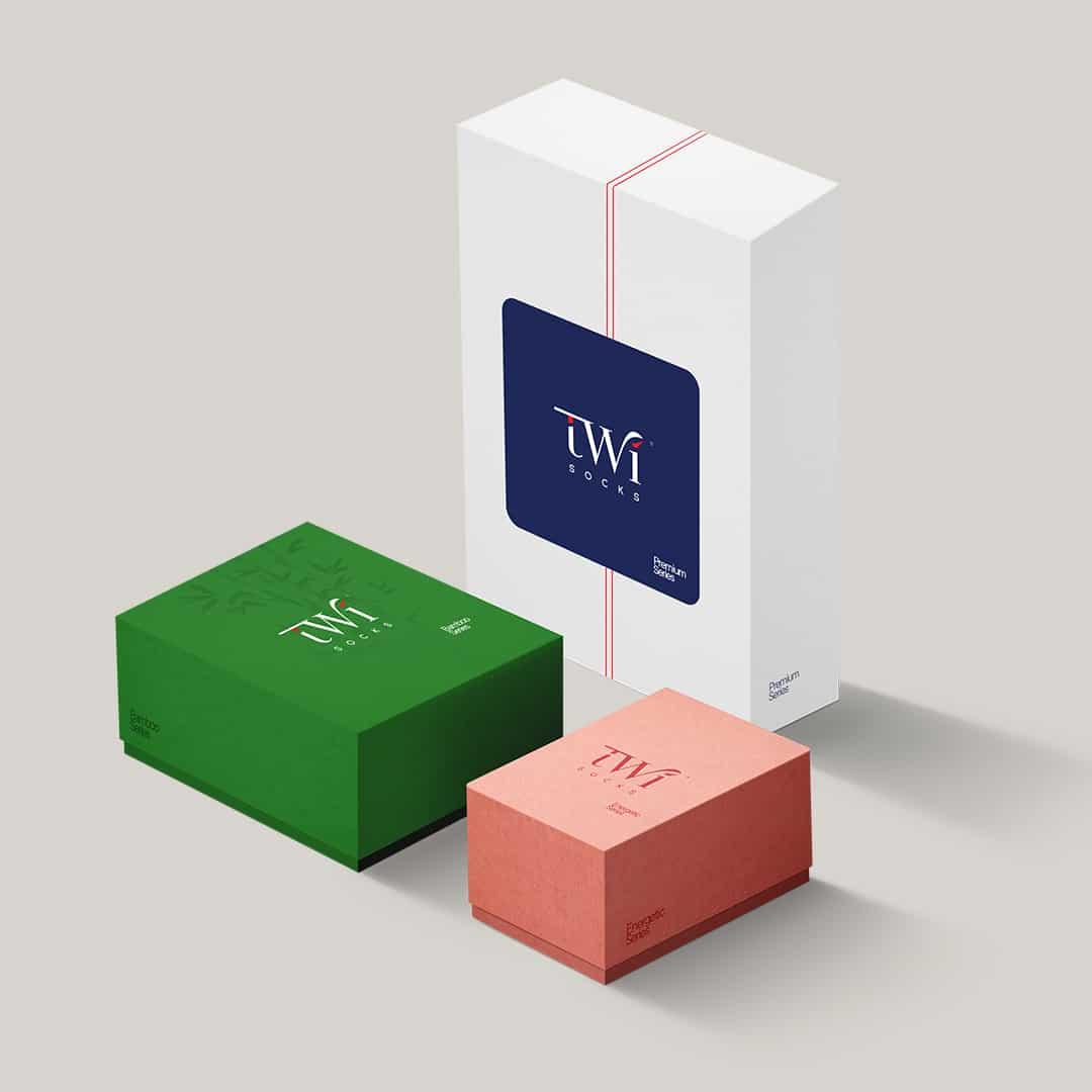 TwiSocks Çorap Logo Tasarım ve Kutu Tasarım
