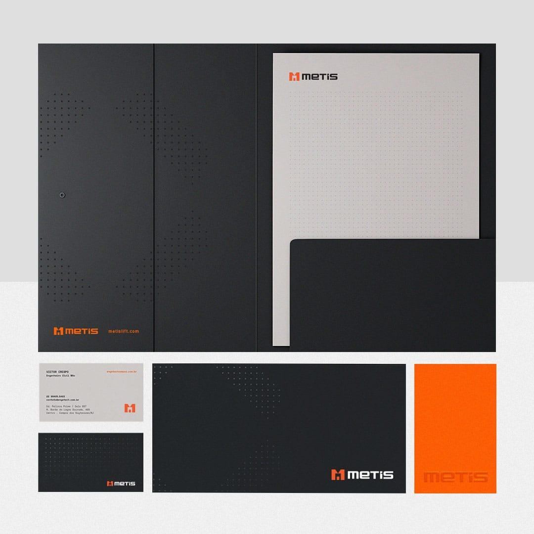 Metis Asansör Marka Tasarım - Logo-Kurumsal Kimlik